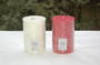 Candle - pillar 10x15 White, Gardenia/Hibiscus fragrance